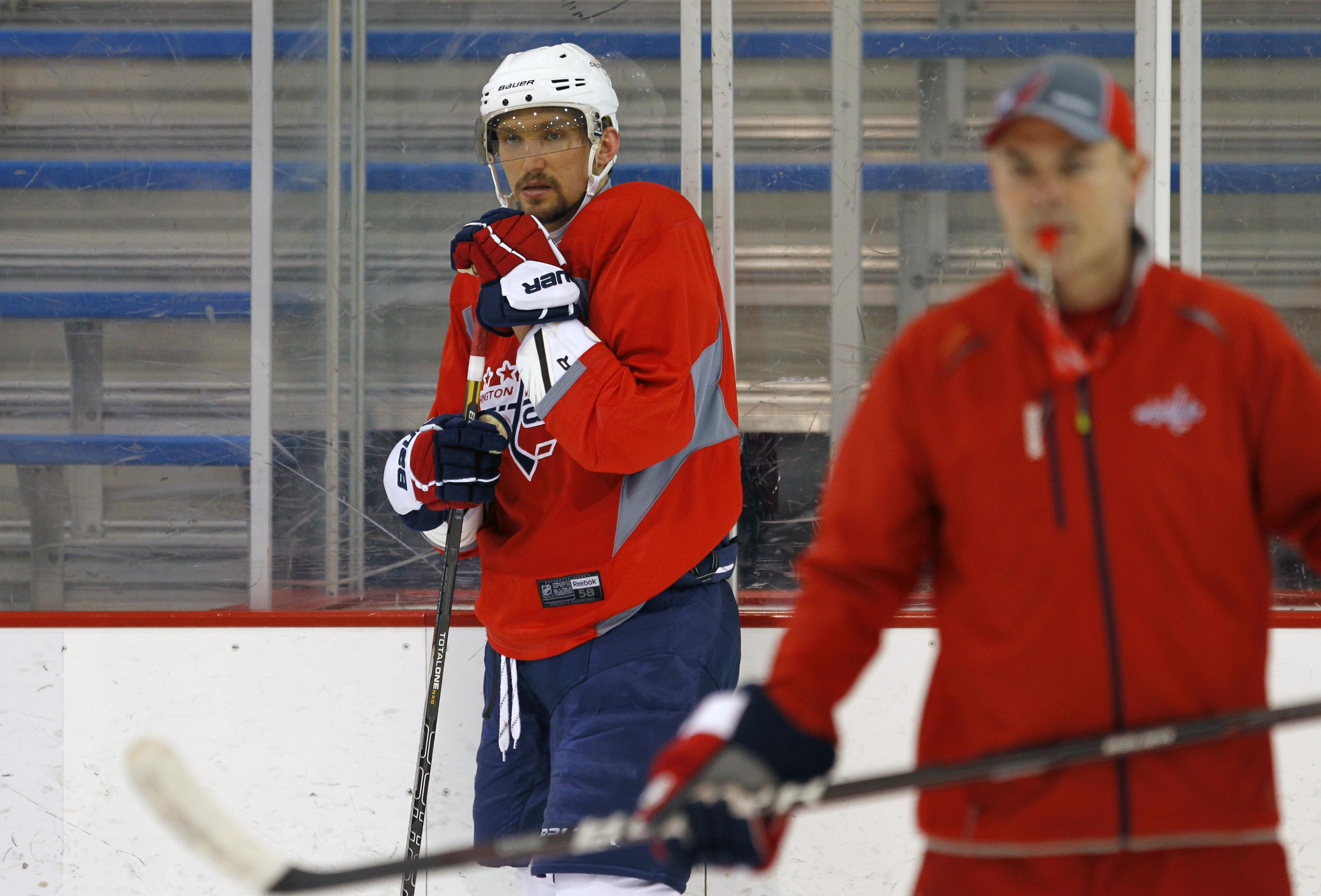 Alex Ovechkin roared in the second half of regular season. Can he do it in the playoffs? (Reuters)