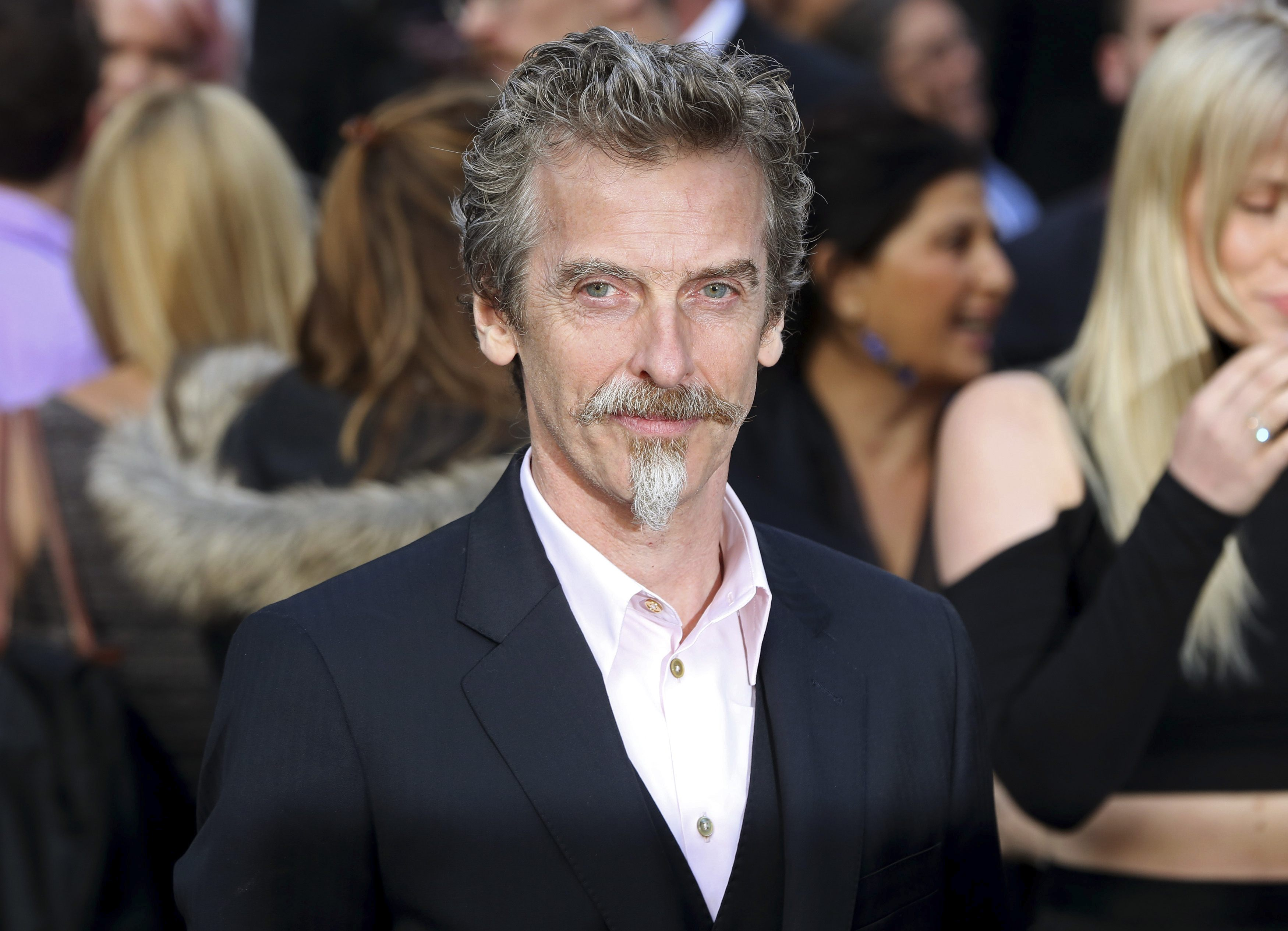 "Scottish actor Peter Capaldi at the world premiere of ""World War Z"" in London June 2, 2013. (REUTERS/Neil Hall)"