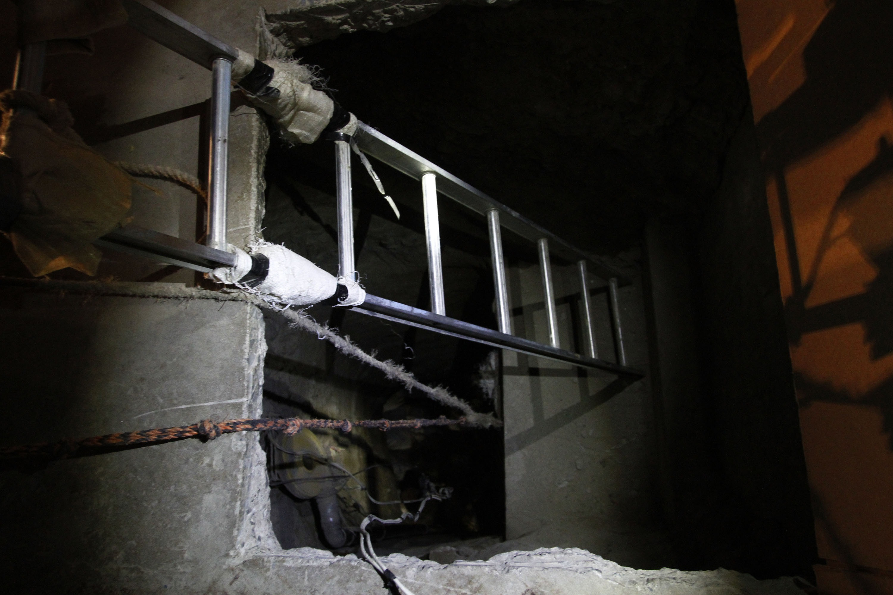 Giant, cross-border smuggling tunnel found under Arizona house