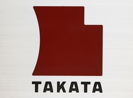 Logo of Takata Corp - Takata says willing to support certain air bag inflator replacements