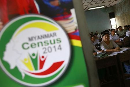 Ethnic strife blurs Myanmar's first census in 30 years