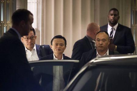 Jack Ma, 'capital-lite' model impress at Alibaba's Boston IPO event