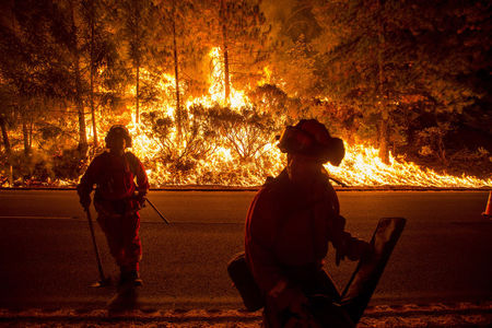 Northern Calif. wildfire rips through 150 homes