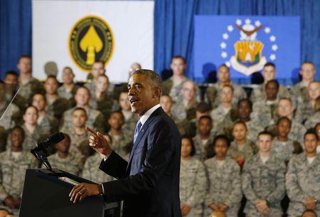 Obama vows no Iraq ground war