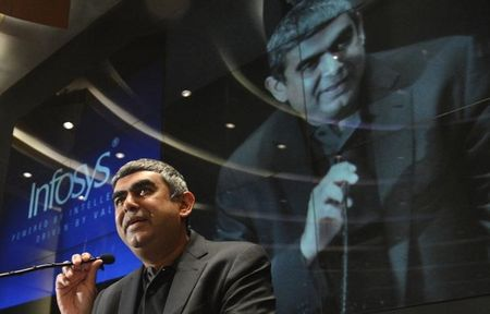 Hemorrhaging talent, Infosys' new CEO allows staff to use Twitter, Facebook