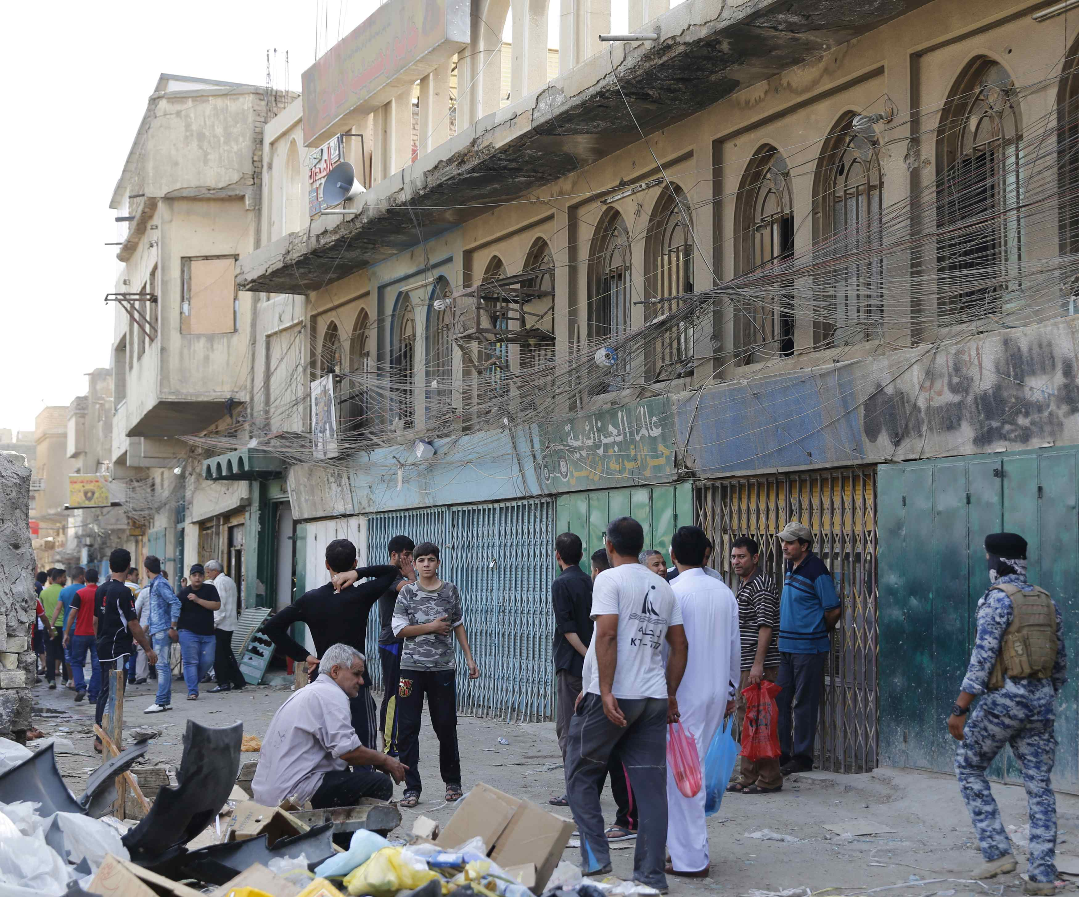 Another Baghdad bombing wave: 33 feared dead