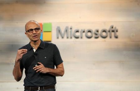 CEO says no gender pay gap at Microsoft