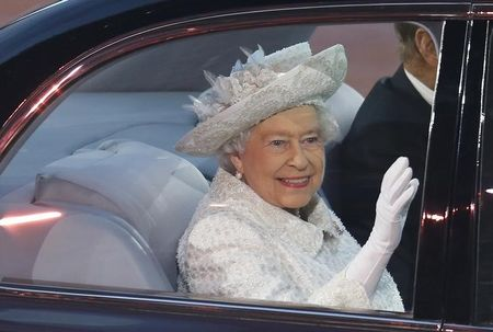 Britain's Queen Elizabeth sends her first tweet