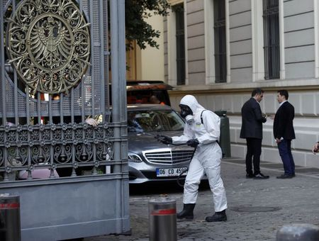 Suspicious yellow powder sent to U.S., other consulates in Istanbul