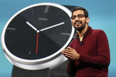Google's Pichai to oversee major products and services