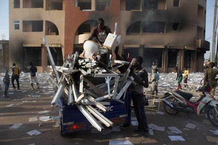 Burkina Faso president resigns, calls for 90-day transition