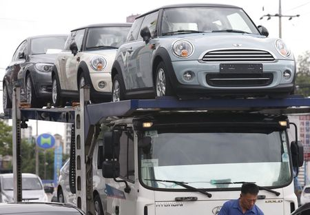 Korea's car market fortress breached under German luxury barrage