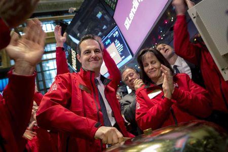 Loan platform operator LendingClub's shares soar in debut