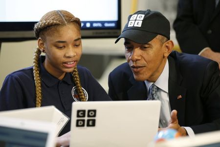 Big tech aims at talent shortage with 'Hour of Code' campaign