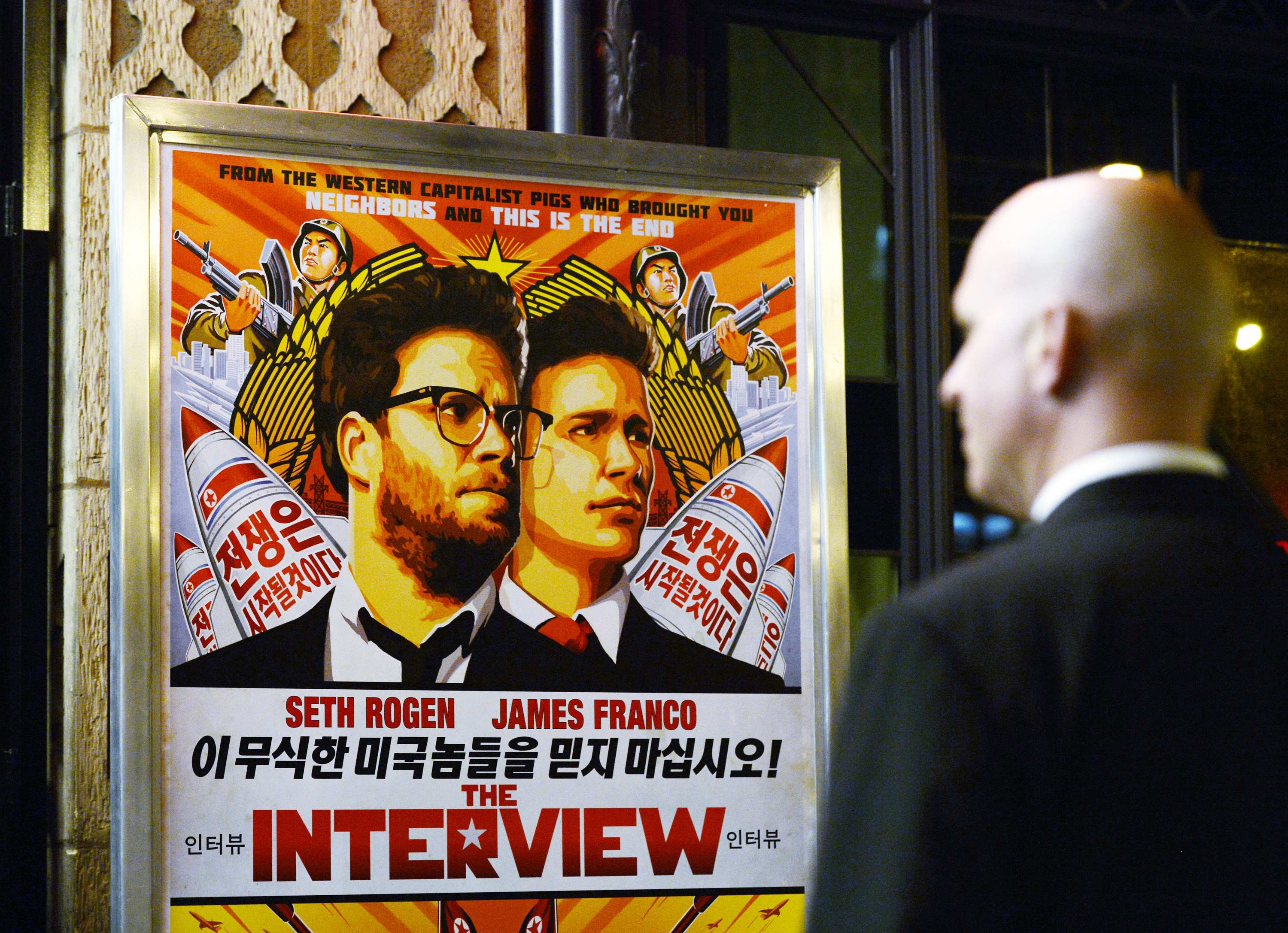 New York premiere of North Korea comedy canceled after threats
