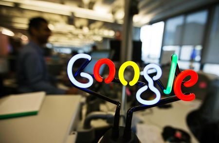 Google shares rise after online ad sales drive revenue higher