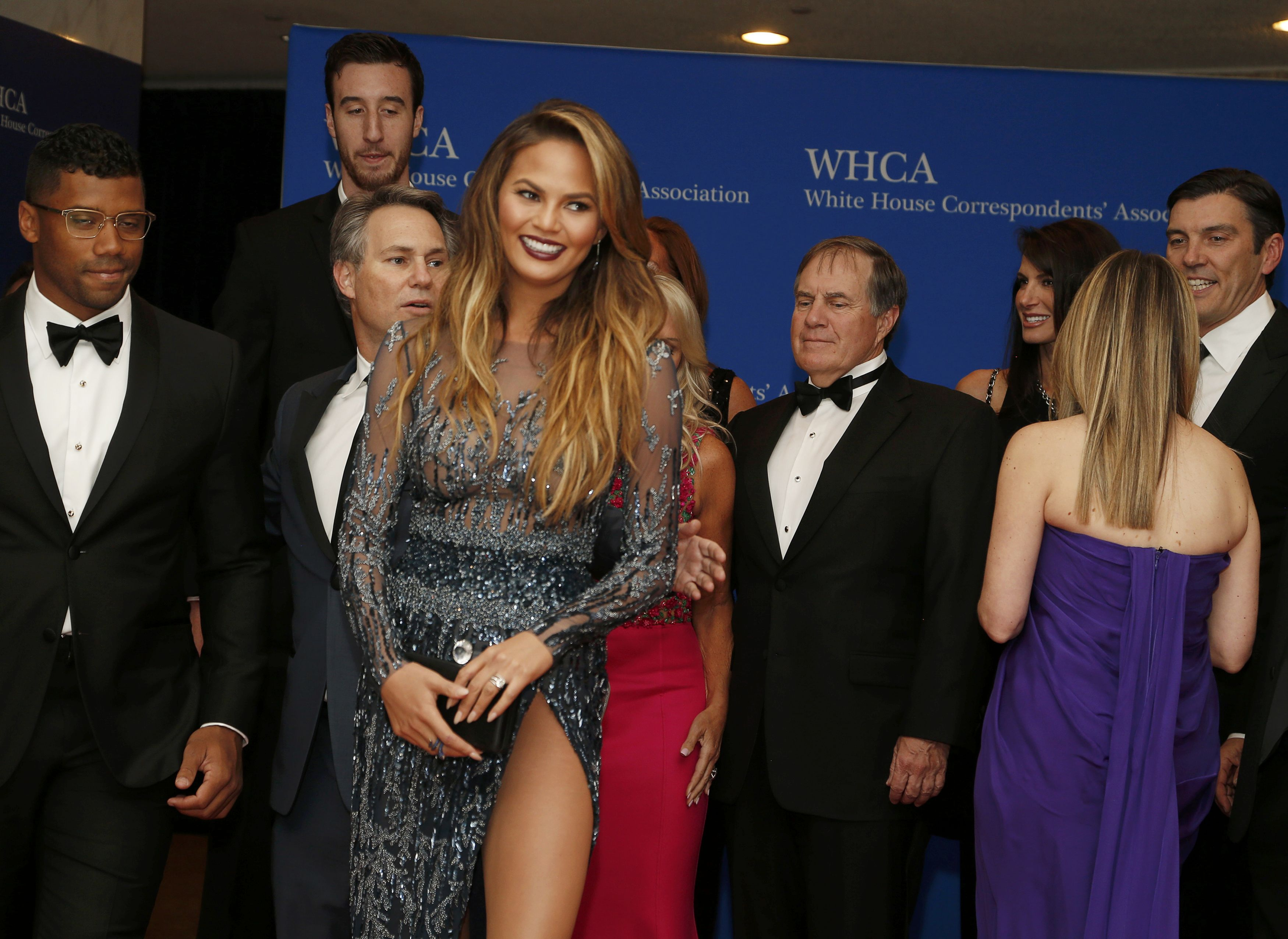 Photos from the red carpet at White House Correspondents' Dinner