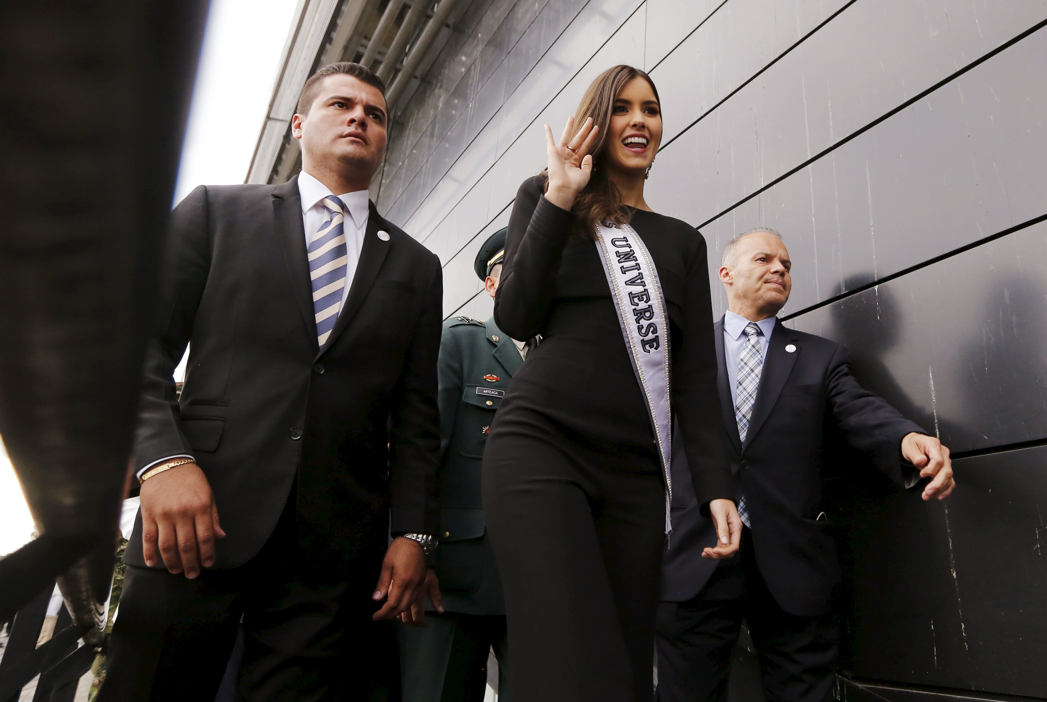 Reigning Miss Universe rebukes Trump for his migrant remarks