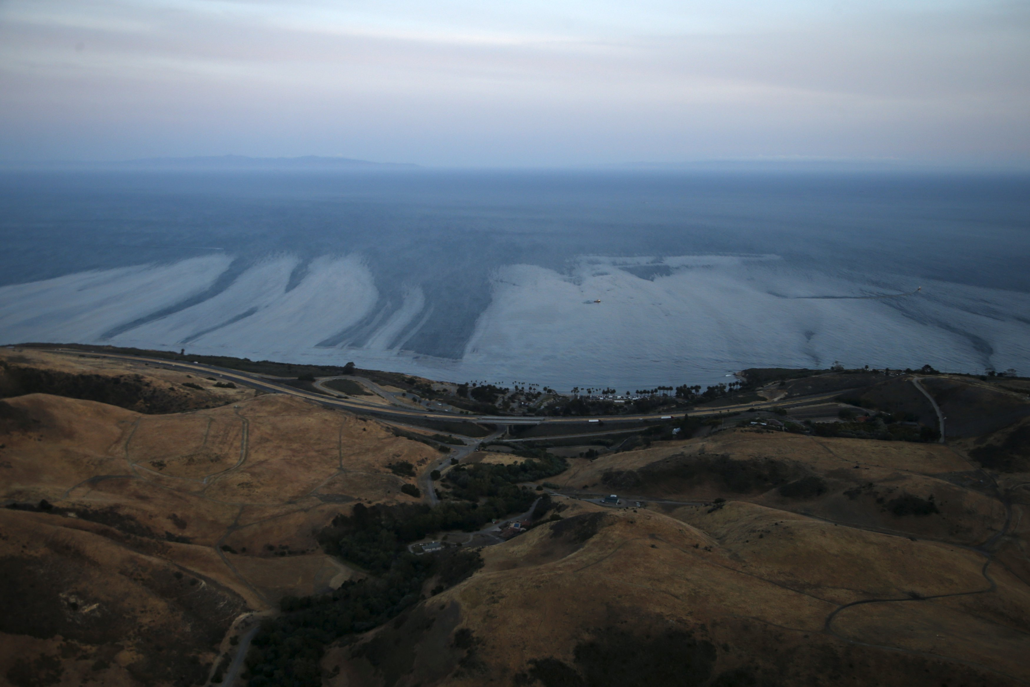 Crisis in California: Innovative technologies under development for cleaning up oil spills