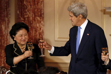 U.S., China stress positives, but fail to narrow differences