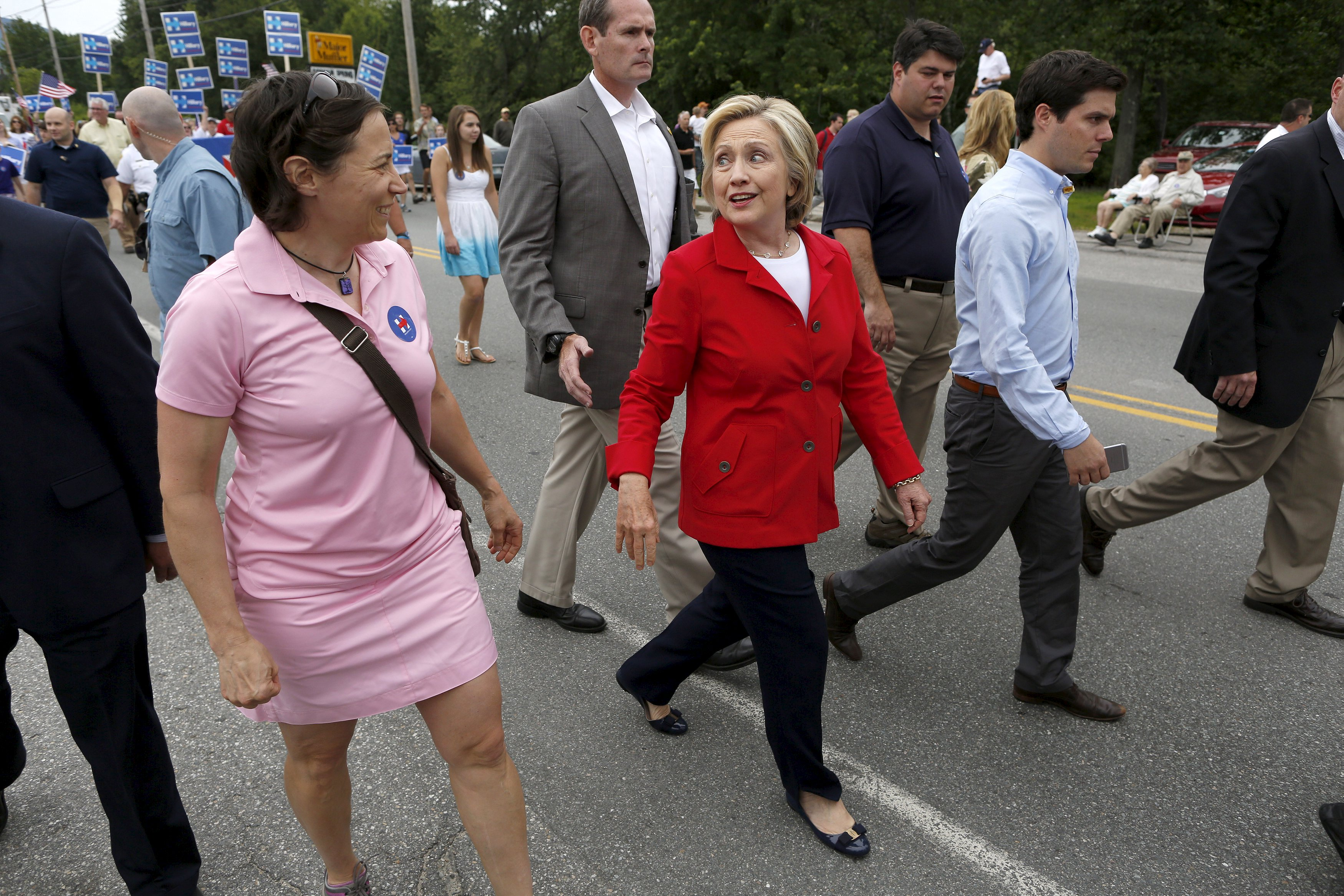 4 lessons from Hillary Clinton's New Hampshire trip