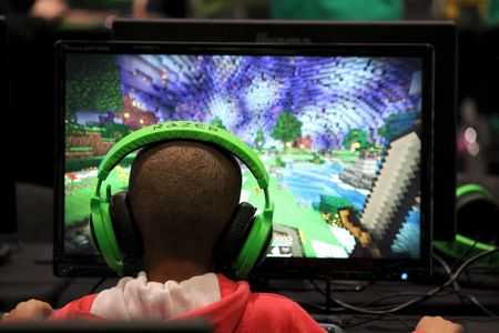 Minecraft celebrities draw record crowd to gaming