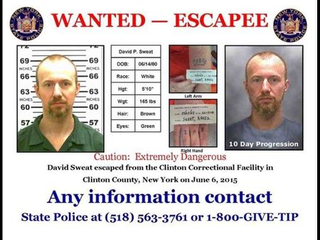 Captured New York fugitive moved to prison from hospital