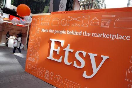E-commerce website Etsy shares soar after Google mention