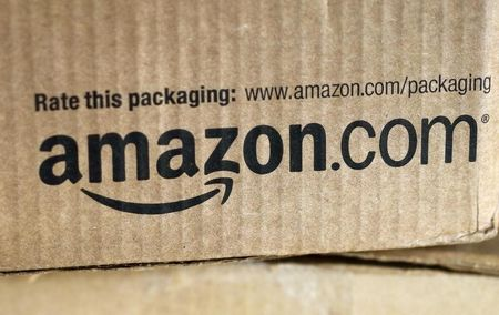 Amazon shares soar on surprise profit, market value above Wal Mart's