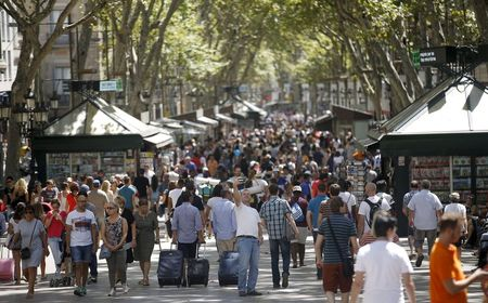 Barcelona mayor's tourism crackdown puts Airbnb in firing line