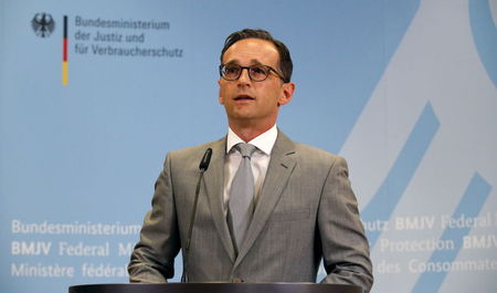 German justice minister takes aim at Facebook over racist posts