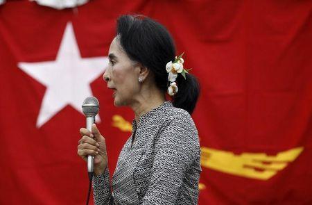 Hardline monks and Myanmar's opposition clash in social media row