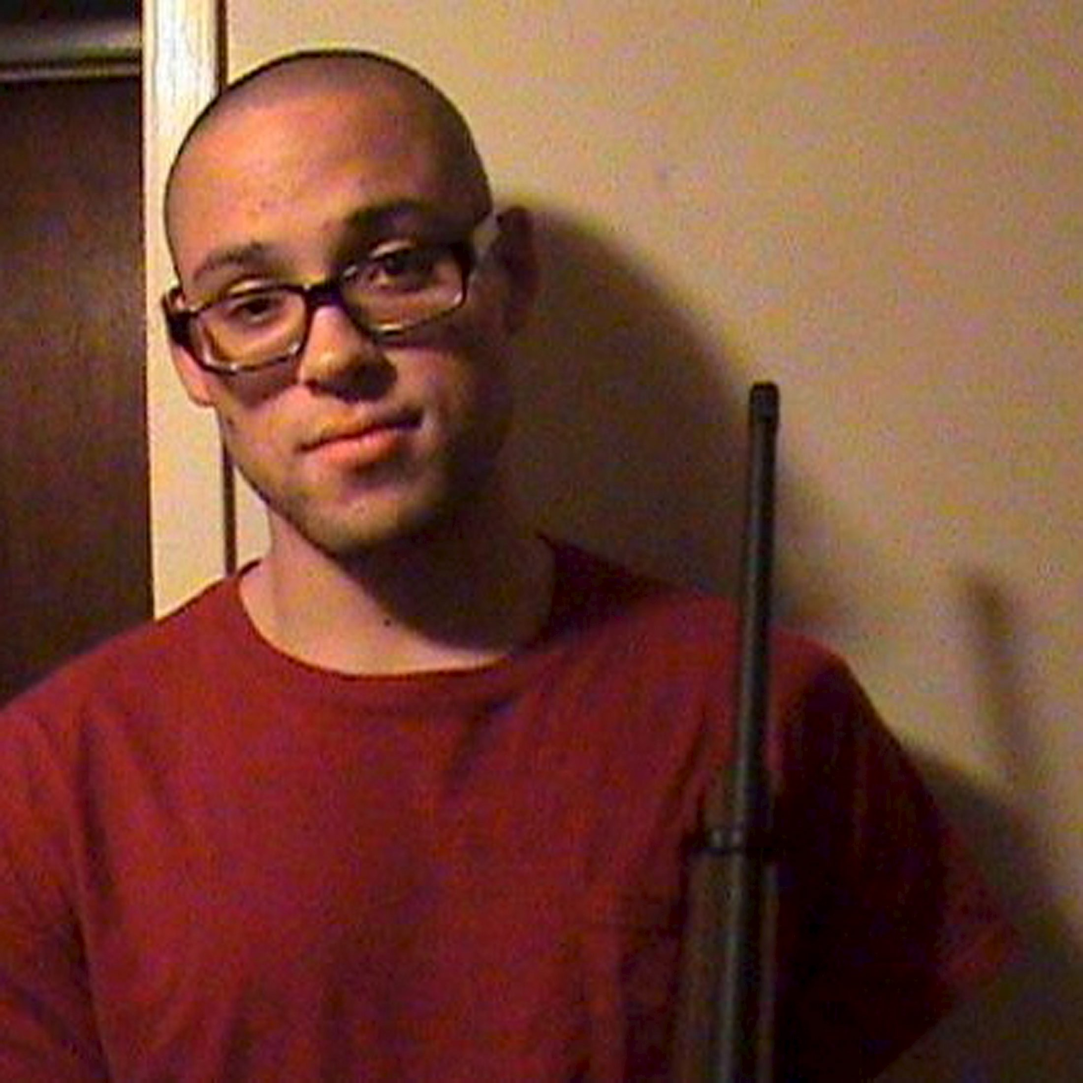 Oregon college shooting suspect Chris Harper-Mercer is seen in a photo taken from his Myspace account