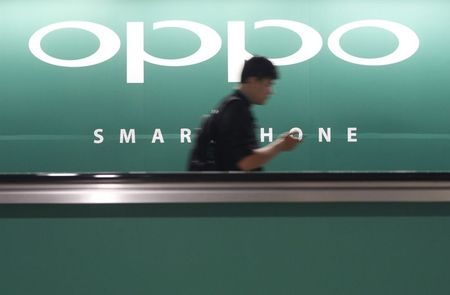 OPPO, Vivo snap at Apple's heels in China mobile market