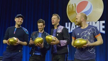 Twitter users cool toward mellow Coldplay ahead of Super Bowl