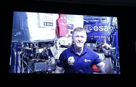 Astronaut runs marathon in space -- but slower than on earth