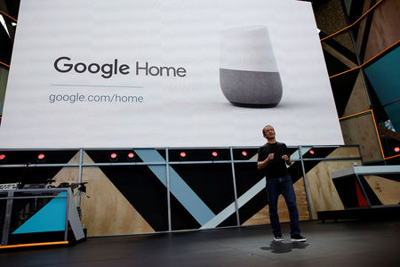 Google unveils Google Home, to compete with Amazon's Echo