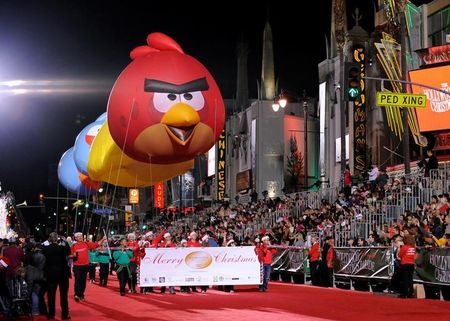 Angry Birds maker Rovio turns a profit, plans movie sequel