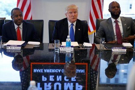 Clinton, Trump clash over who is best for U.S. minorities