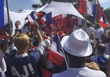 Juppe pitches 'united France' in presidential bid launch