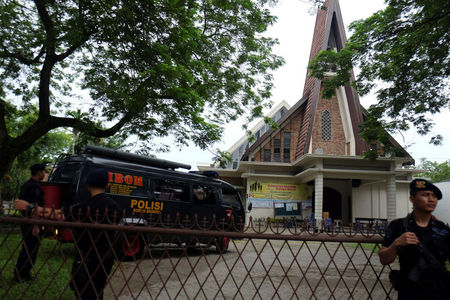 Suspected 'terror' attack at Indonesian church; no serious casualties