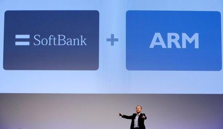 British tech champion ARM's sale to Japan's SoftBank wins shareholder nod