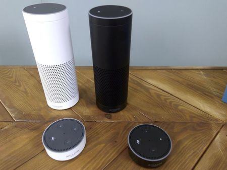 Amazon launches voice-powered Echo speakers in Britain and Germany