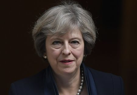 May meets Goldman, Amazon, IBM to discuss post-Brexit investment