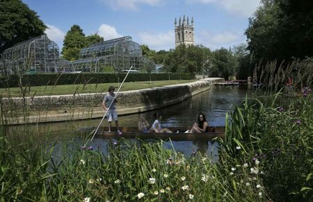 Oxford ranked world's top university, just as Brexit looms