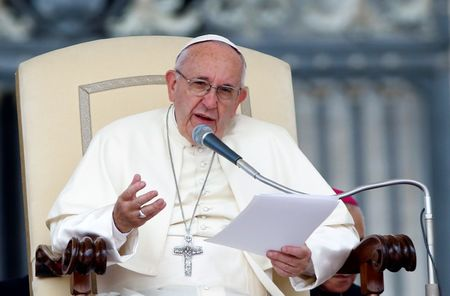 Pope says journalism based on fear-mongering, gossip is form of 'terrorism'