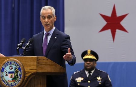 Chicago mayor unveils crime-fighting plans amid wave of violence