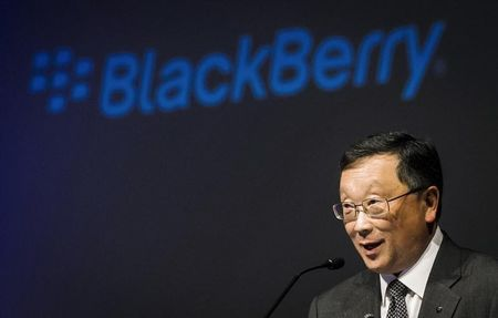 BlackBerry CEO says turnaround two-thirds complete