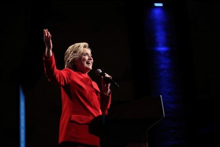 Clinton gains in online betting markets after U.S. presidential debate