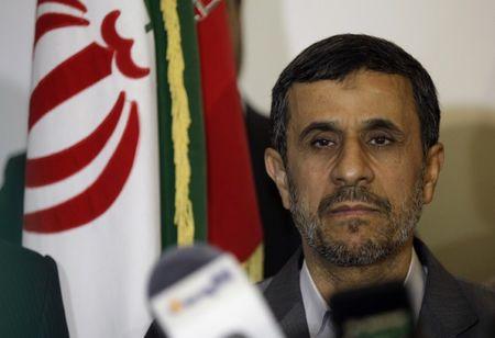 Iran's Ahmadinejad says will not make presidential comeback bid